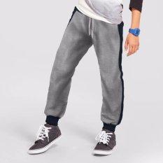 Jfashion Celana Jogger Panjang Anak Usia 11-12 tahun - Joe