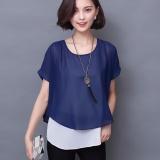 Diskon Jfashion Korean Style Double Layer Blouse Ivanka Jfashion Di Jawa Barat