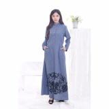 Beli Jfashion Long Sleeve Chambray Printing Kredit Indonesia