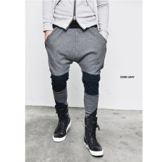 Jfashion Celana Jogger Training Pria Kombinasi di lutut - Maxx