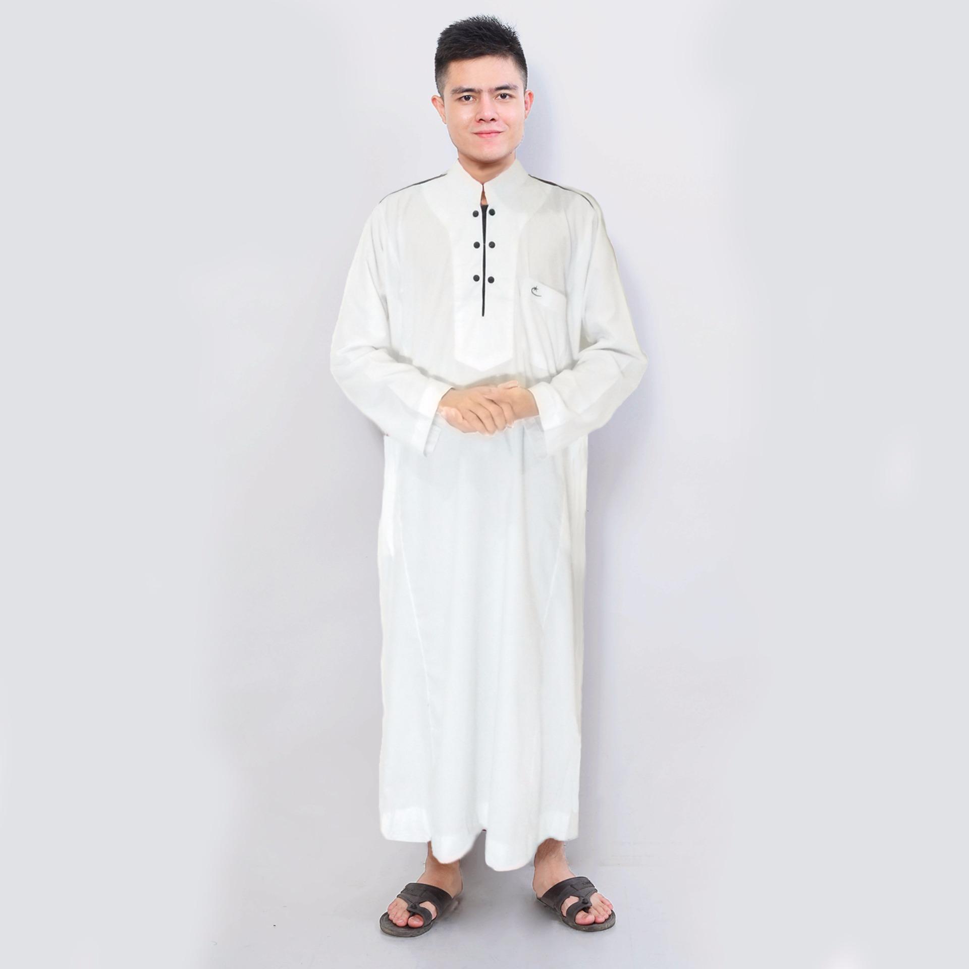 Beli Murah Harga Diskon Jfashion Pakaian Muslim Pria Model Gamis  03 Jubah Afrikani