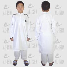 Jfashion Stelan Gamis Anak Remaja Muslim Laki-Laki - Cordova teens