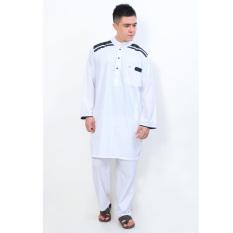 Toko Jfashion Stelan Gamis Pria Tangan Panjang Cordova Putih Terlengkap