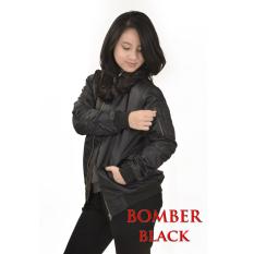 Toko Jfashion Jaket Bomber Wanita Dewasa Tangan Panjang Model Seleting Murah Indonesia