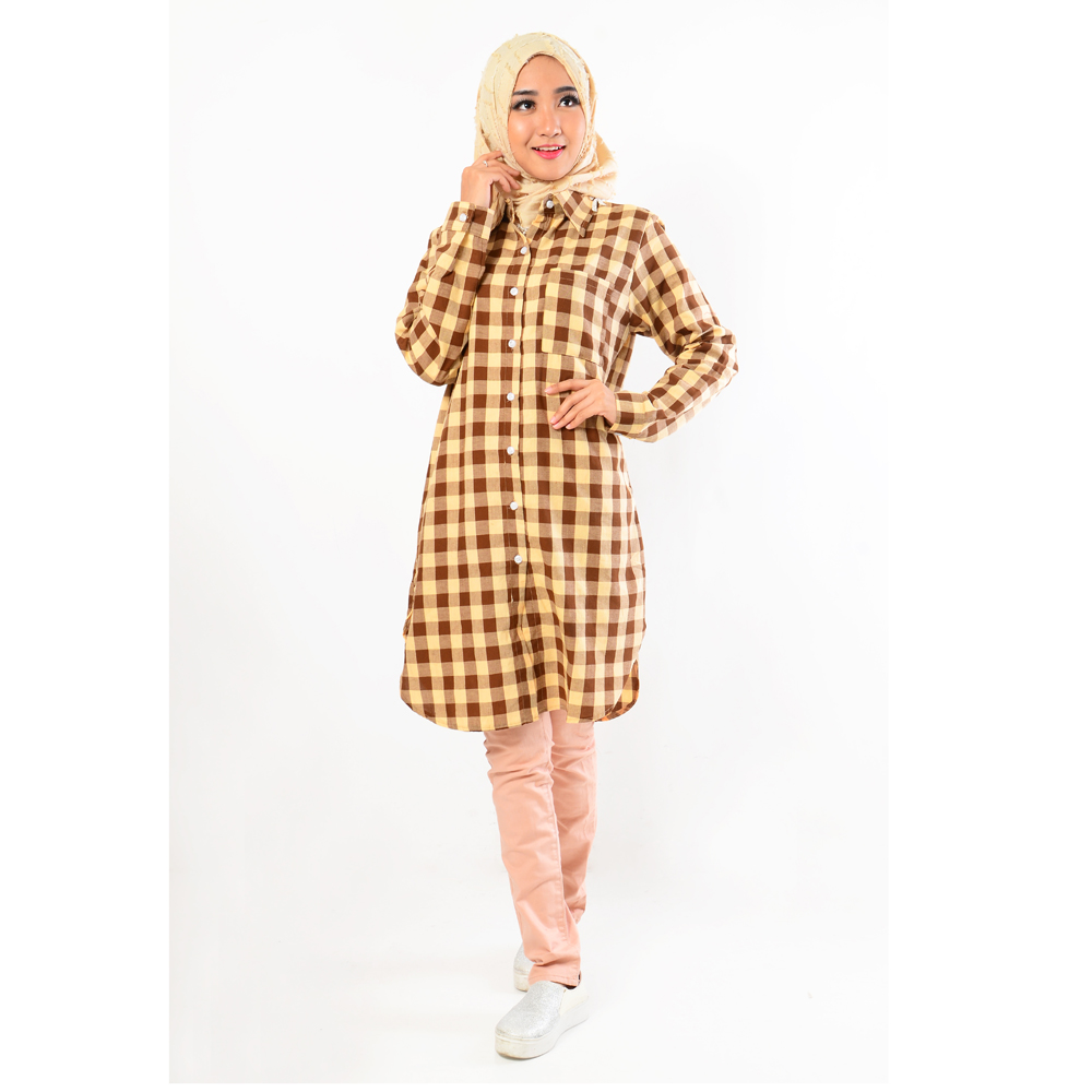 Gsd Fashion Baju Muslim Wanita Set Levi Pink Update Daftar Harga Kekinian Dress Sauqina M Sw Rayon Model Simpel Dan Trendy Jfashion Tunik Kemeja Corak Kotak Tangan Panjang Kancing Full Laila