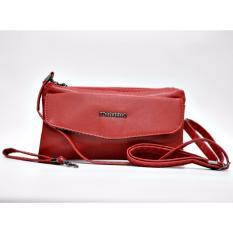 Toko Jfr Fashion Dompet Wanita Premium Pu Leather Jfr017 Red Terlengkap Dki Jakarta