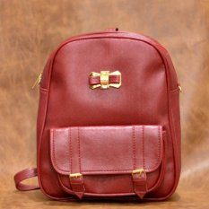 Promo Jfr Fashion Tas Wanita Premium Pu Leather Jfrt04 Maroon Akhir Tahun