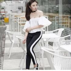 Harga Jhf Scuba Pants Cantik Punya List Putih Celana Baru