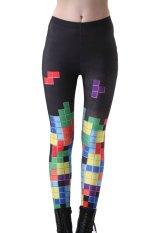 Harga Jiayiqi Colorful Grid Digital Print High Waist Legging Intl Dan Spesifikasinya