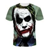 Situs Review Jiayiqi Funny Joker Lengan Pendek T Shirt Tops Summer Punk Cetak T Shirt Clown Intl