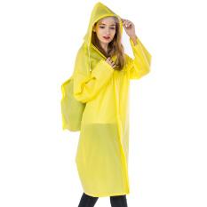 Jieda Dewasa Sabuk Casing Ransel Pria atau Wanita Ponco Jas Hujan (Tas Ransel Bagian Kuning) baju Wanita Jaket Wanita