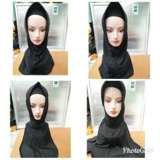 Beli Jifanis Hijab Hitam Bagus Nyaman Baru