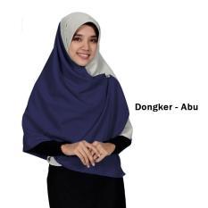 Jilbab 2 Warna Zannah Hijab Daily Hijab Kerudung Khimar Segi Empat Kombinasi Dua Warna Hijab Fashion Wanita Muslimah Terbaru Paling Laris Termurah Harga Grosir Model Baru Bahan Wolfis Premium