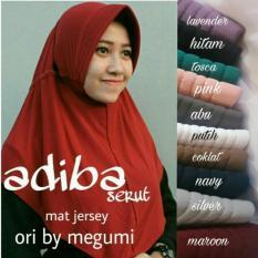 Jilbab Adiba Serut  / Hijab Instan Serut /hijab adiba