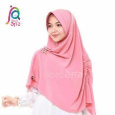 Jilbab afra/khansa semi instan