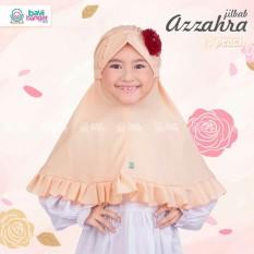 Jilbab Anak Azzahra by Bayi Banget Hijab - 03 Peach - Hijab Bergo Khimar Kerudung Anak