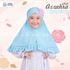Jilbab Anak Azzahra by Bayi Banget Hijab - Light Blue Khimar Bergo Hijab Anak Instan Syar'i