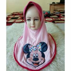 3 Pcs Jilbab anak tanggung karakter mickey
