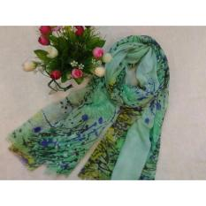 Jilbab Cantik Hijab untuk sehari-hari Kerudung Rabbani Kerudung Zoya Kerudung Instan Kerudung Rawis Jilbab Organza  Putri Green