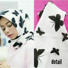Jilbab Hijab Segiempat Kupu Kupu / ButterflyIDR54900. Rp 54.900