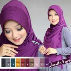 Jilbab Instan kerudung Hijab Syari Bergo Jamila
