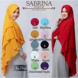Spesifikasi Jilbab Instan Khimar Syar I Sabrina 3 Layer Hijab Terbaik