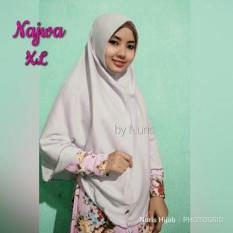 Jilbab Instan/ Najwa Non Pet Xl/ Muslim Syar'i/Fashion Muslim/ Terbaru/ Wanita/Kekinian/Murah/Modis