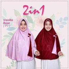 Vanilla Rose - Jilbab Instan Pricilla Bolak Balik
