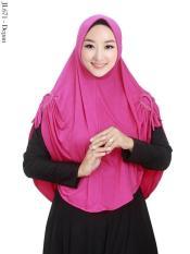 Harga Jilbab Instan Syari Kepang Jumbo Hijab Bandung Asli