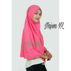 Jilbab Instan/Najwa Xl/Hijab Syari/Khimar/ Fashion Wanita/Trend /Terbaru /Grosir/Termurah/Terlaris