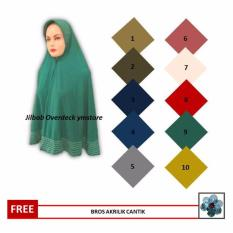 Best Seller ym_store Jilbab Instant Overdeck Fit to L-XL - Hijab