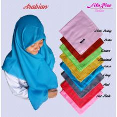 Jilbab Kerudung Hijab Segiempat - Arabia -- Hot Pink