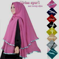 Spesifikasi Jilbab Khimar Nirina Baru