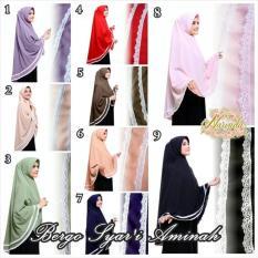 Diskon Jilbab Khimar Syar I Aminah Hijab Dki Jakarta