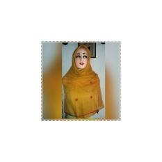 Jilbab Paris Segi Empat Rajut