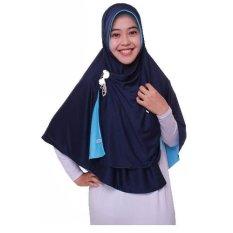 Harga Jilbab Pricilla Bolak Balik 2In1 Ocean Blue Ukuran L Online Indonesia