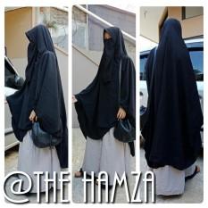 Jilbab Syari Antem Polos The hamza