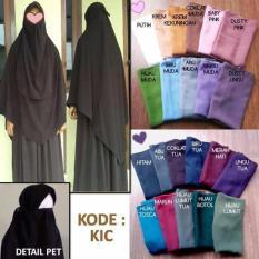 Jilbab Syar I Instan Ghois Collection Diskon 30