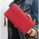 Jims Honey Alice Wallet Maroon Asli