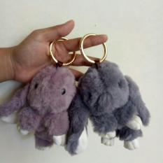 Jims Honey Bunny Key Chain Gray Jims Honey Diskon