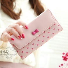 Jual Jims Honey Candy Lav Wallet Soft Pink Branded Original