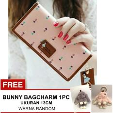 Jual Jims Honey Dompet Fashion Import Dolly Softpink Bunny Bagcharm Indonesia Murah