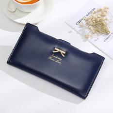 Spesifikasi Jims Honey Dompet Fashion Import Ribbon Wallet Navy Bagus