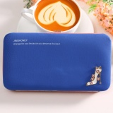 Review Terbaik Jims Honey Dompet Wanita Import Megan Heels Wallet Navy