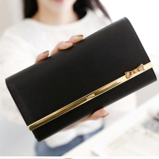 Jims Honey Fashion Wallet Dompet Import Kqueenstar Black Diskon Indonesia