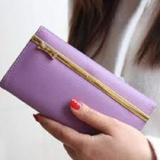 Jims Honey - Fashion Wallet - Dompet Import - Kqueenstar (Purple)