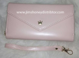 Beli Jims Honey Queenie Clutch Soft Pink Nyicil