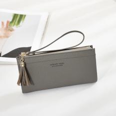 Jims Honey - Simple Fashion Wallet - Samantha Wallet (Grey)