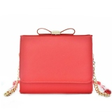 Promo Jims Honey Sling Bag Import Lil Bow Plus Red