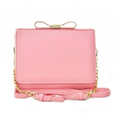 Jual Jims Honey Sling Bag Import Lil Bow Plus Softpink Ori